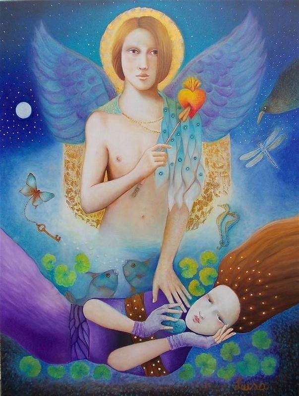 art Heart by Luisa Villavicencio fine art america